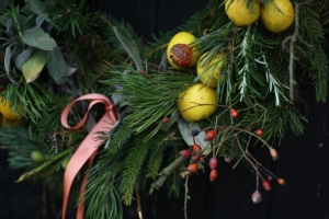 Potager Christmas Wreath
