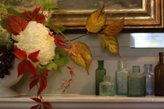 wedding tablecentre centrepiece autumn