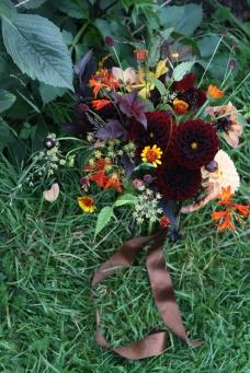 Dark summer bouquet